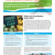 Food System Action Plan